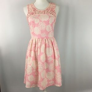 Forever 21 Pink Knee length Dress size small